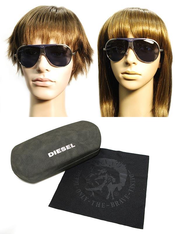 供供DIESEL太陽眼鏡藍色泪珠柴油DL-0038-16W名牌/人&女士/男性使用的&女性使用的/紫外線UV cut透鏡/開車兜風/釣魚/戶外/漂亮的/時裝