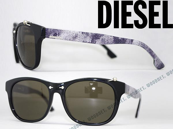 5e78b4f897 Diesel sunglasses black Wellington type DIESEL DL-0048-01 A branded mens   amp  ladies   man sex for  amp  woman sex for and ultraviolet UV kathrens  drive ...