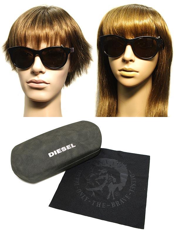 供供太陽眼鏡柴油黑色惠靈頓型DIESEL DL-0049-01A名牌/人&女士/男性使用的&女性使用的/紫外線UV cut透鏡/開車兜風/釣魚/戶外/漂亮的/時裝