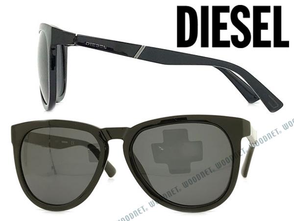 DIESEL ディーゼル ブラック サングラス メンズ&レディース DL-0263-01A ブランド