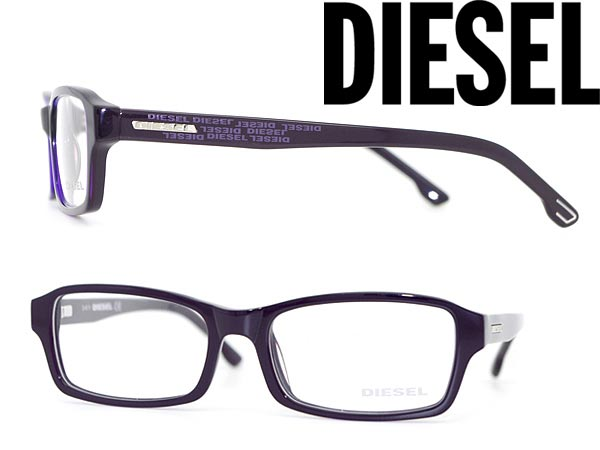 6765bc402e07 woodnet  Glasses frame DIESEL purple diesel eyeglasses glasses DL-5004-081  branded mens  amp amp  ladies   men for  amp amp  woman sex for and once  with ITA ...