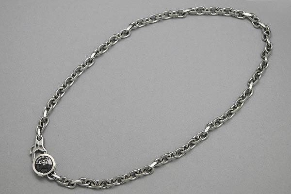 供供重的項鏈DIESEL銀子柴油配飾DX0433040名牌/人&女士/男性使用的&女性使用