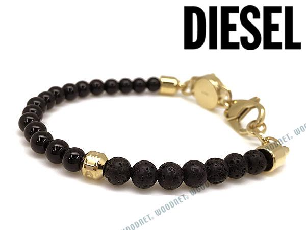 DIESEL ブレスレット ディーゼル メンズ&レディース ブラック ブレスレット DX1058710 ブランド