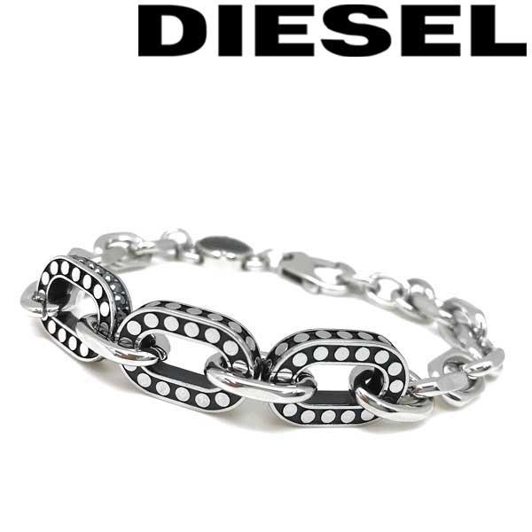 DIESEL ブレスレット ディーゼル メンズ&レディース シルバー DX1166040 ブランド