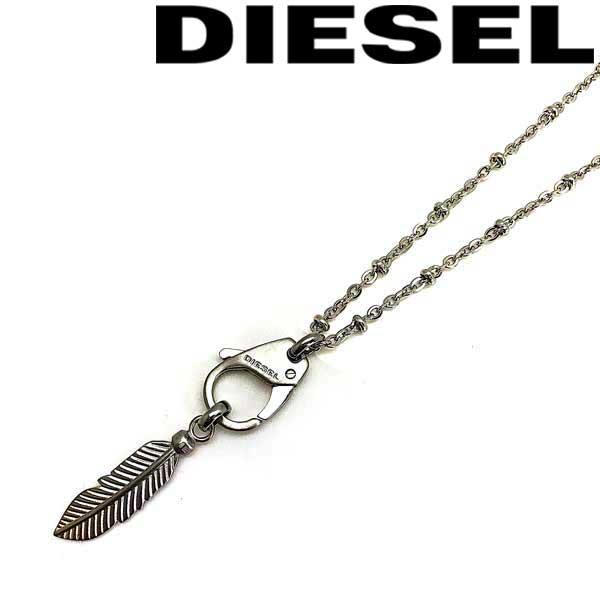 DIESEL ネックレス ディーゼル メンズ&レディース シルバー×ゴールド DX1204040 ブランド チョーカー ペンダント