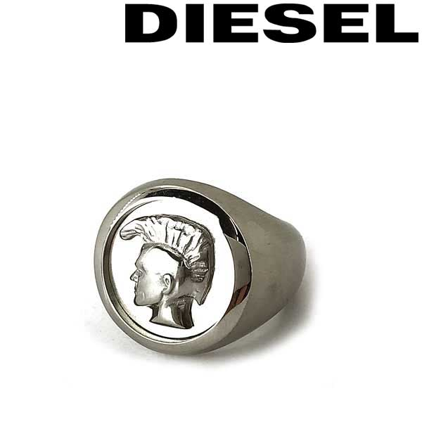 DIESEL リング・指輪 ディーゼル メンズ&レディース シルバー DX1211040 ブランド