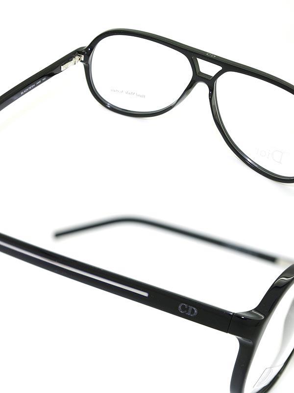 供眼鏡DIOR HOMME burakkudioruomumeganefuremu眼鏡CD CRD-BLACK-TIE-124-AM5名牌/人/男性使用的/度有,供伊達、老花眼鏡、彩色·個人電腦使用的PC眼鏡透鏡交換對應/透鏡交換是6,800日圆~