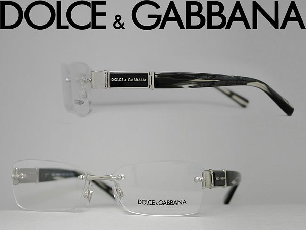 710edc17b80 DOLCE  GABBANA glasses frame rim no   HCI no silver x marble black Dolce   amp  Gabbana d  amp  g eyeglasses glasses 0DG-1210-1043 branded mens  amp   ...