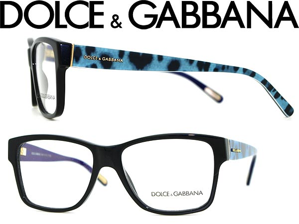 Eyegles Dolce Gabbana Black X Leopard Print Amp D