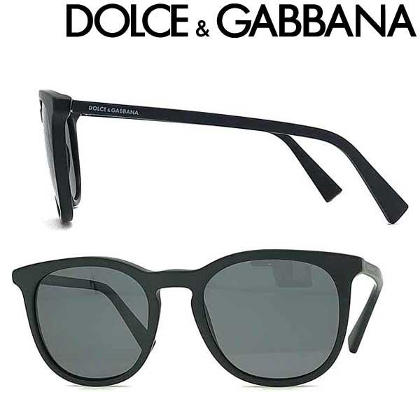 DOLCE&GABBANA サングラス ドルチェ&ガッバーナ メンズ&レディース ブラック ≪偏光レンズ≫ 0DG-4372-1934-81 ブランド