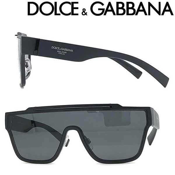 DOLCE&GABBANA サングラス ドルチェ&ガッバーナ メンズ&レディース ブラック 0DG-6125-2525-87 ブランド