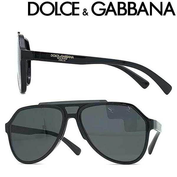 DOLCE&GABBANA サングラス ドルチェ&ガッバーナ メンズ&レディース ブラックティアドロップ 0DG-6128-501-87 ブランド