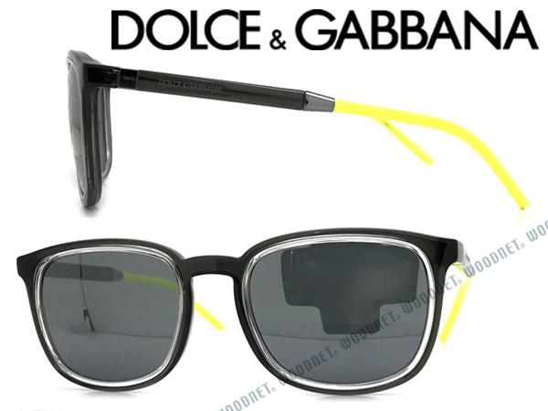 DOLCE&GABBANA サングラス ドルチェ&ガッバーナ メンズ&レディース ブラック DG6115-31606G ブランド