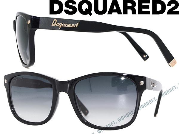 098e7d66bf40ed Branded mens   ladies   men DSQUARED2 0DQ-0105-01B 2 gradation black dsquared  sunglasses for   woman sex for   ultraviolet UV kathrens   drive   fishing  ...