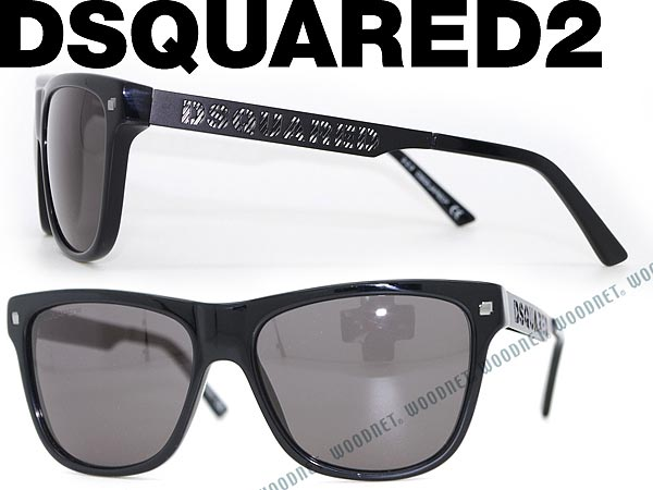 a293e7c82913ec DSQUARED2 sunglasses black dsquared 2 0DQ-0136-01A branded mens  amp   ladies   men for  amp  woman sex for and ultraviolet UV kathrens   drive    fishing ...