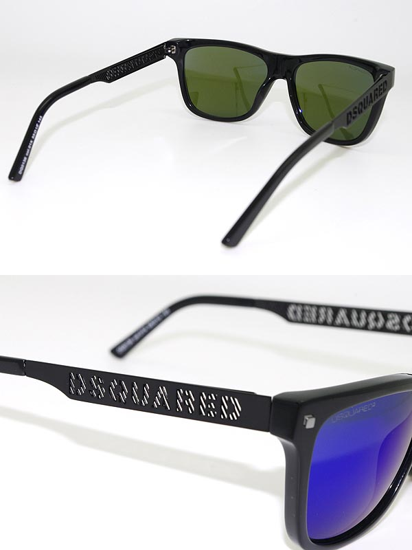 a24238909bee ... Dsquared 2 sunglasses blue Miller DSQUARED2 0DQ-0136-01X branded/mens  & ...