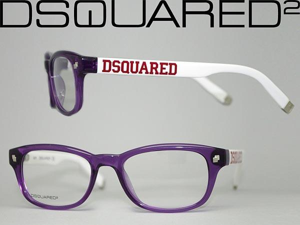 0a03427c54f6 Glasses dsquared 2 Purple x white DSQUARED2 glasses frames glasses  0DQ-5006-081 □ □ price □ □ WN0045 branded mens  amp  ladies   men for  amp   ...