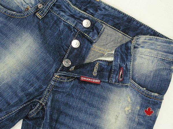 供disukueado 2系統癱瘓&洗滌牛仔褲牛仔褲洗滌藍色DSQUARED2 D2 S71LA0386-S30179-089名牌/人/男性使用