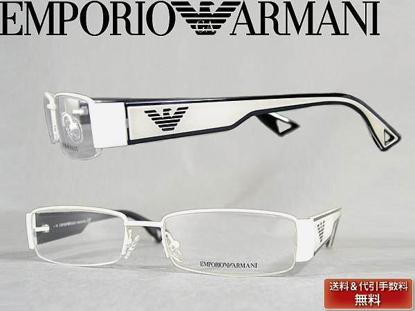 供供meganefuremuemporioarumani EMPORIO ARMANI眼鏡眼鏡墊子灰白×黑色EMP-EA-9503-Z5F名牌/人&女士/男性使用的&女性使用的/度從屬于的伊達、老花眼鏡、彩色·個人電腦事情PC眼鏡透鏡交換對應