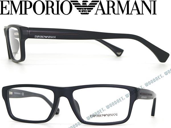 emporio armani glasses frames matte black square type emporio armani eyeglasses glasses ea 3013f - Emporio Armani Frames