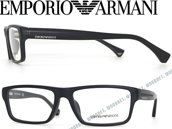 woodnet | Rakuten Global Market: EMPORIO ARMANI glasses frames matte ...