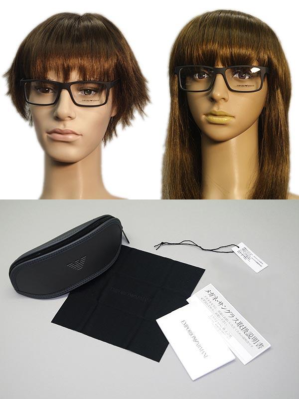 2940df4e93a EMPORIO ARMANI Emporio Armani eyeglasses matte black glasses frames glasses  EA-3038-5063 WN0054 branded mens   ladies   men for   woman sex for and  once ...