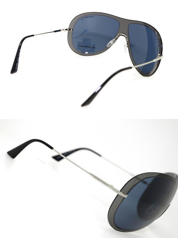供供EMPORIO ARMANI burakkutiadoroppusangurasuemporioarumani EMP-EA-9720-S-DAP-KU名牌/人&女士/男性使用的&女性使用的/紫外線UV cut透鏡/開車兜風/釣魚/戶外/漂亮的/時裝