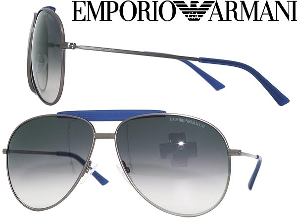 EA 9807/S Aviator Sunglasses Emporio Armani wtIiwOkL