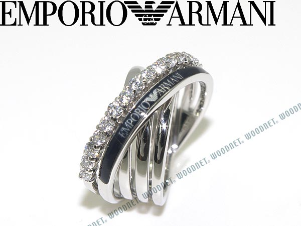 Emporio Armani Rings Ring Silver Material Accessories Eg2730040 Branden S Women En