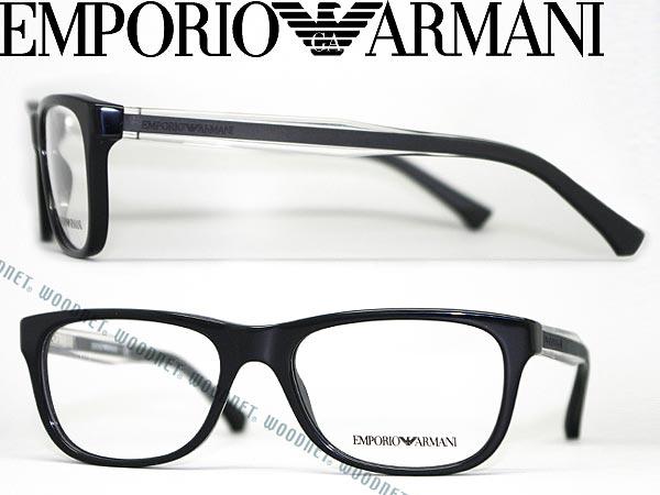 6ab003d937cb An EMPORIO ARMANI eyeglass frame black Emporio Armani eyeglasses glasses  EMP-EA-3001-5017 branded mens   ladies   men   for women of for   degrees  with ITA ...