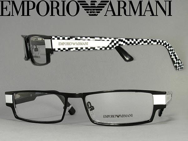 60a50d5b6deb EMPORIO ARMANI glasses Emporio Armani glasses frames glasses black x  branded mens  amp  ladies   men EMP-EA-9596-CTV white for  amp  woman sex  for and once ...