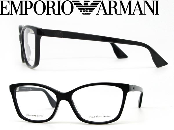b5c194779d8 ブラックメガネ frames an EMPORIO ARMANI Emporio Armani eyeglasses glasses EMP-EA-9672-807  □ price □ □ □ WN0045 branded mens   ladies   men for   woman ...