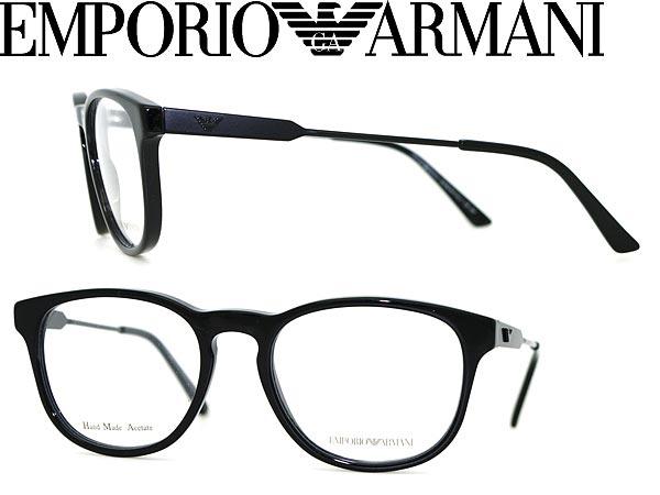 woodnet | Rakuten Global Market: EMPORIO ARMANI eyeglass frame black ...