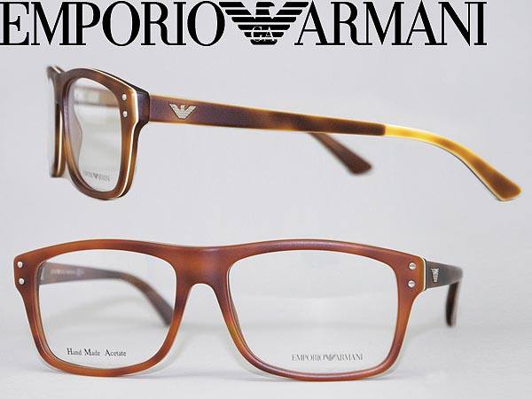 aa4518a530df EMPORIO ARMANI glasses matte Orange x white Emporio Armani glasses frames  glasses EMP-EA-9866-DUK branded mens   ladies   men for   woman sex for and  once ...