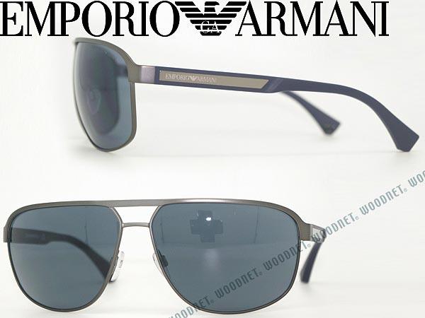 d2b2e52b1ced Emporio Armani EMPORIO ARMANI black sunglasses EA-2025-309687 brand mens    ladies   men for   woman sex for   UV UV kathrens   drive   fishing    outdoors ...