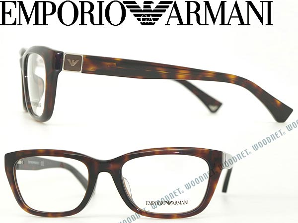 15ab956c32 Emporio Armani an EMPORIO ARMANI glasses frames glasses tortoiseshell  pattern brown glasses EA-3058F-5395 branded/mens & ladies / men & for women  for ...
