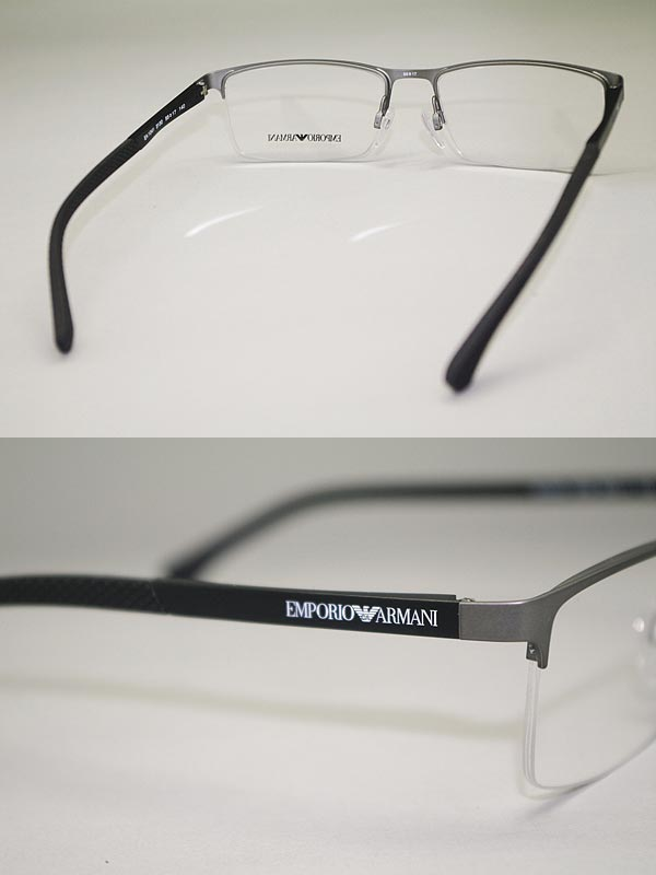 e0251230c19 Eyeglass frames Emporio Armani Matt Gunmetal Silver EMPORIO ARMANI  eyeglasses glasses EA1041-3094 branded mens   ladies   men for   girls for    grade of ...