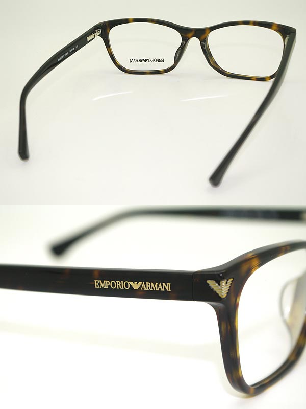 woodnet | Rakuten Global Market: Eyeglass frames Emporio Armani ...