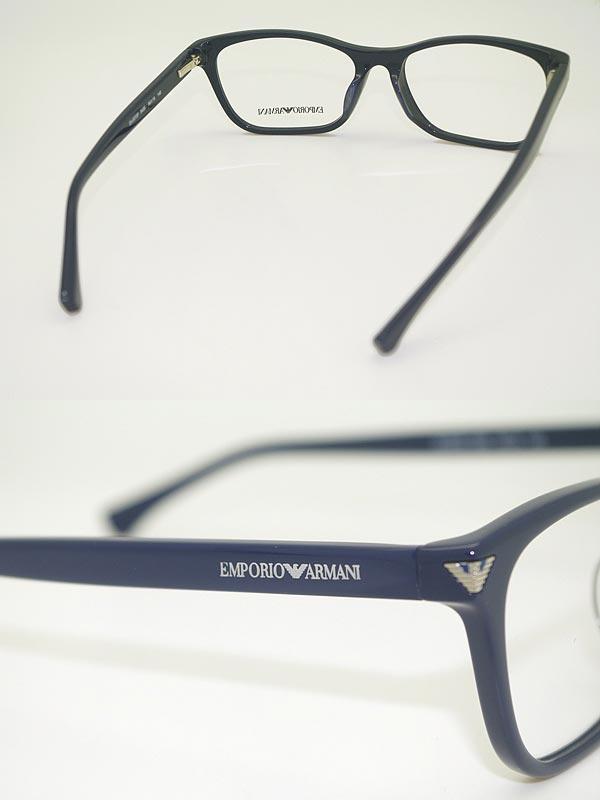 woodnet | Rakuten Global Market: Eyeglass frames Emporio Armani Navy ...
