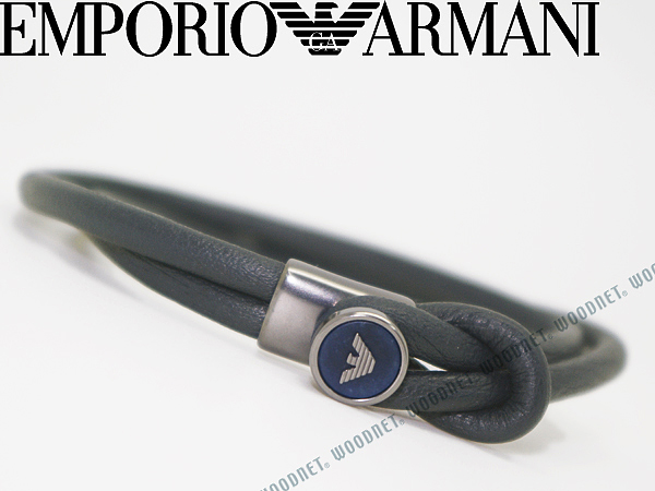 EMPORIO ARMANI ネイビー ブレスレット エンポリオアルマーニ アクセサリー EGS2214020 ブランド/メンズ&レディース/男性用&女性用