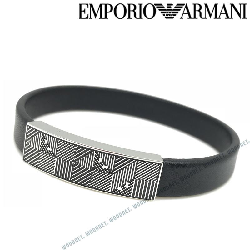 EMPORIO ARMANI ブレスレット エンポリオアルマーニ メンズ&レディース ブラック EGS2510040 ブランド