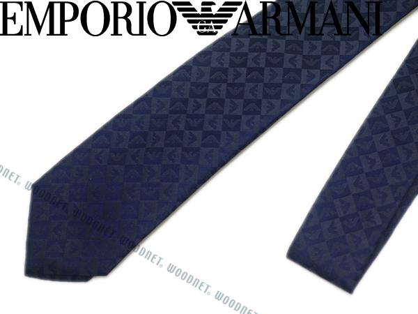 EMPORIO ARMANI ネクタイ エンポリオアルマーニ メンズ シルク チャイナブルー ネイビー 340049-612-03833 ブランド