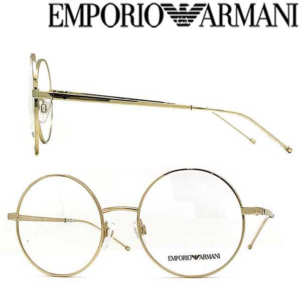 EMPORIO ARMANI メガネフレーム エンポリオ アルマーニ メンズ&レディース ゴールド 眼鏡 EA1092-3013 ブランド