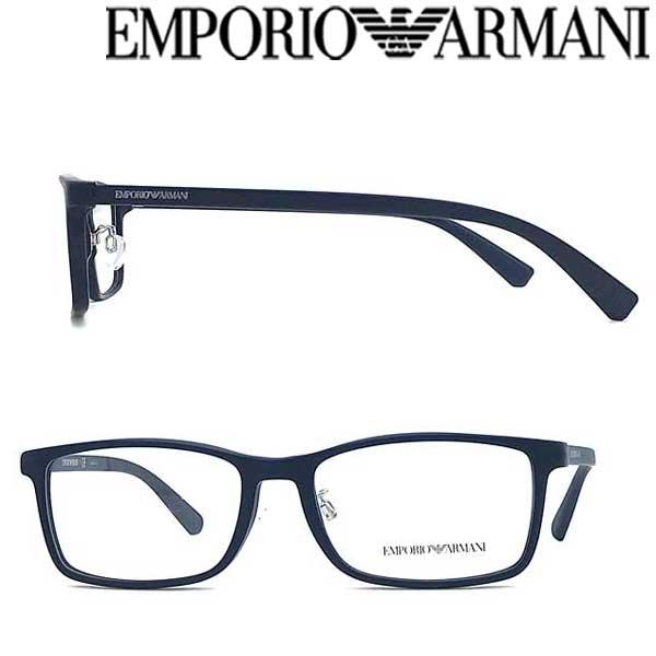 EMPORIO ARMANI メガネフレーム エンポリオ アルマーニ メンズ&レディース マットネイビー 眼鏡 EA3145D-5719 ブランド