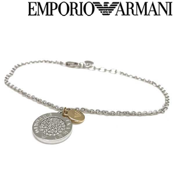 EMPORIO ARMANI ブレスレット エンポリオアルマーニ メンズ&レディース シルバー EG3378040 ブランド