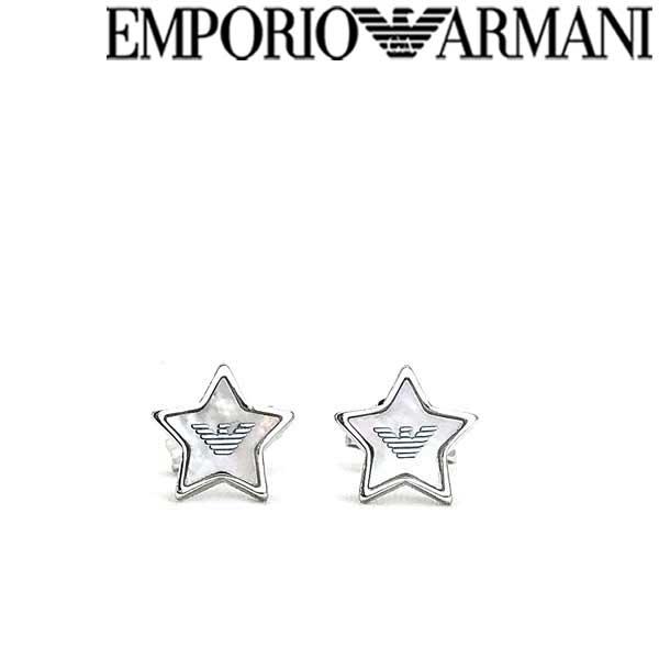 EMPORIO ARMANI ピアス エンポリオアルマーニ レディース スター シルバーEG3396040 ブランド