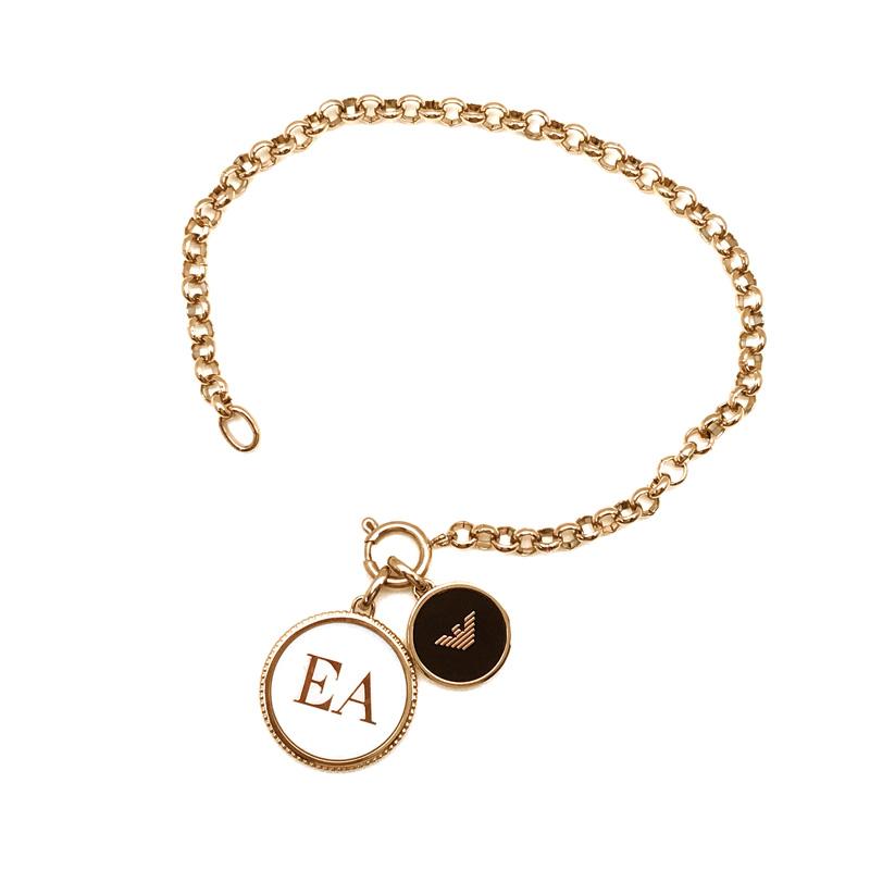 EMPORIO ARMANI ブレスレット エンポリオアルマーニ メンズ レディース ゴールド EGS2583221 ブランド6Ybgyf7