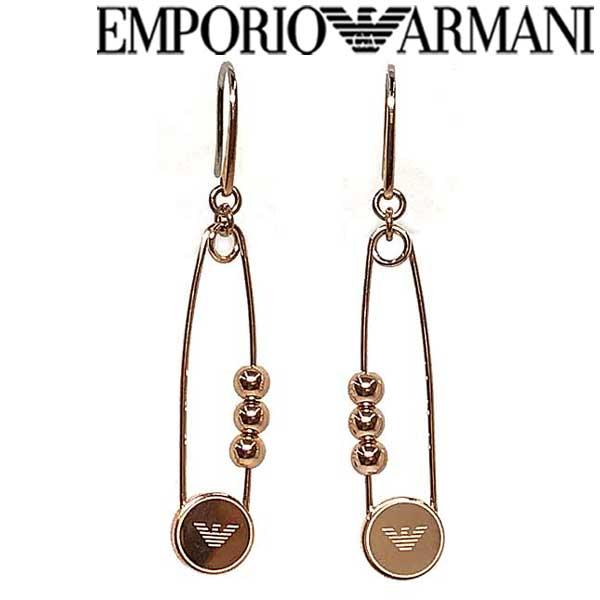 EMPORIO ARMANI ピアス エンポリオアルマーニ メンズ&レディース ゴールドピアス EGS2631221 ブランド