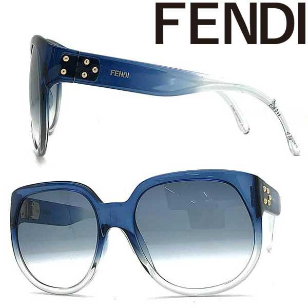 FENDI サングラス フェンディ レディース グラデーションブルー FF-0403GS-PJP-08 ブランド