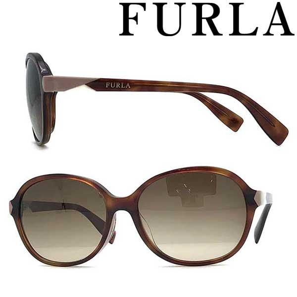 FURLA サングラス フルラ レディースブラウングラデーション SFU-379J-0710 ブランド